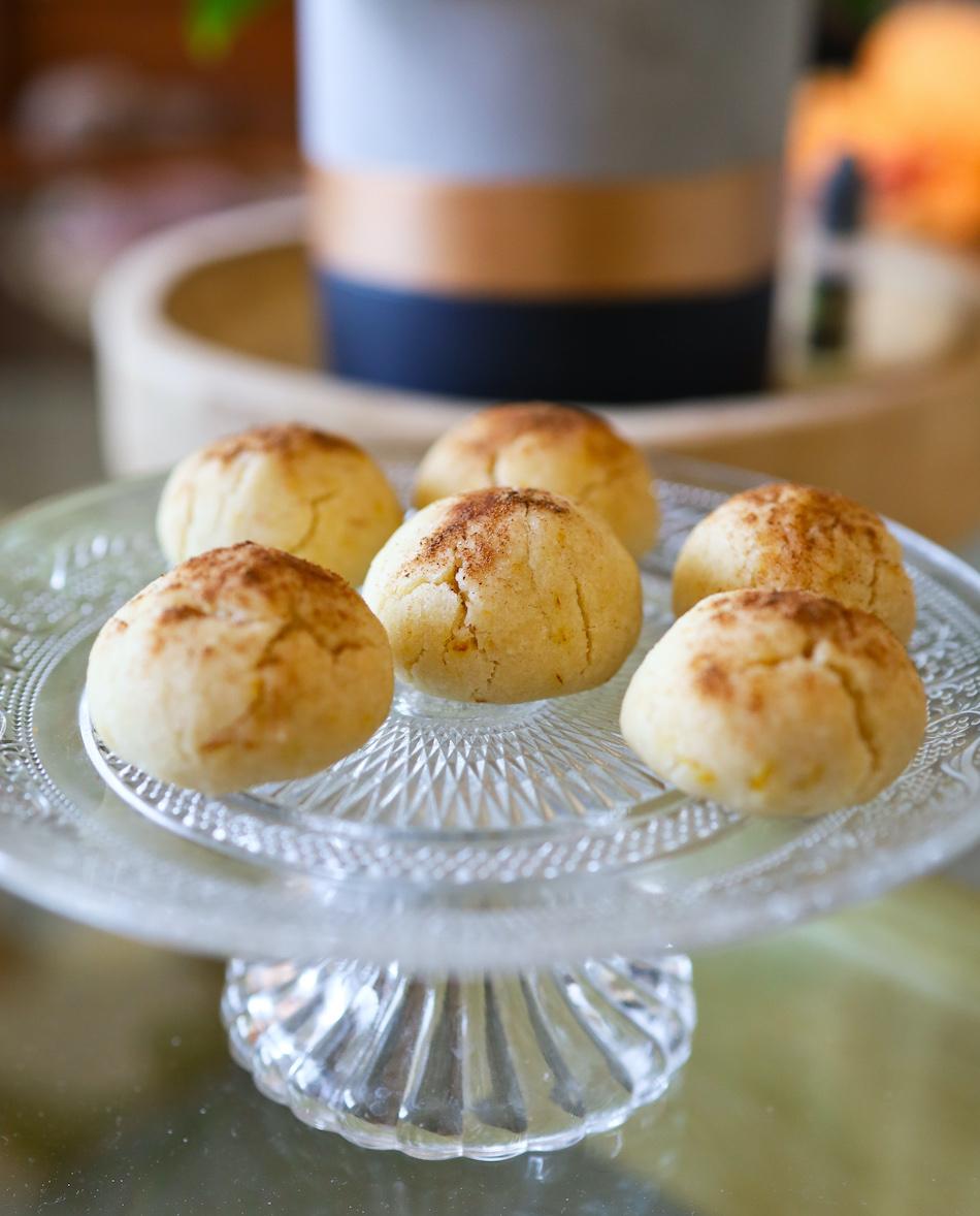 Mantecaos citron orange cannelle