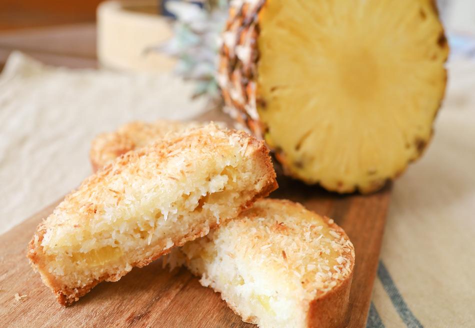 Tarte coco et ananas