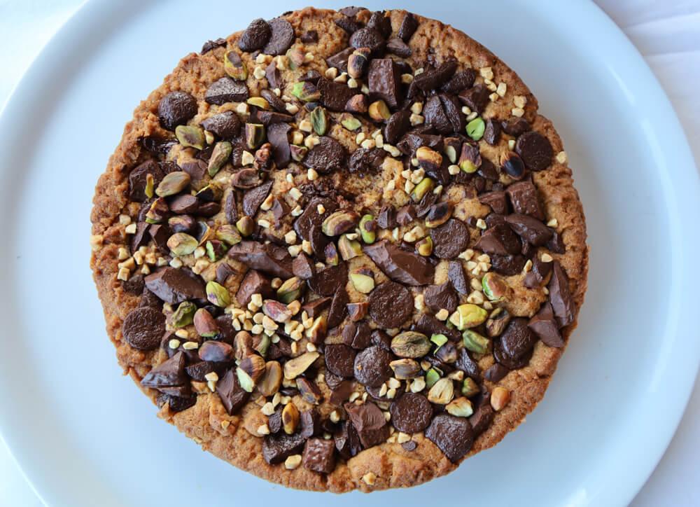 Le cookie chocolat pistache