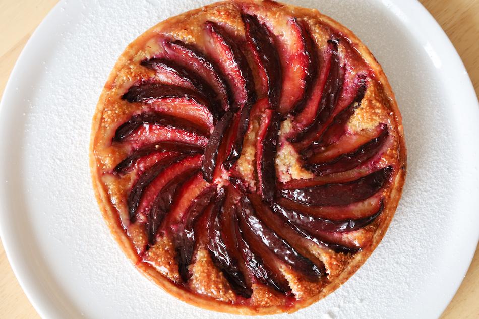 La tarte aux prunes maison