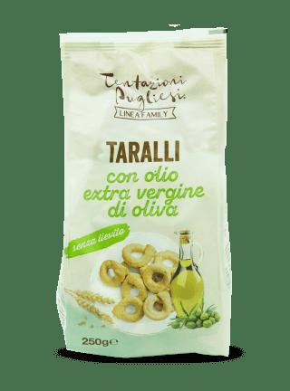 Linea Family - Taralli all'olio extravergine d'oliva