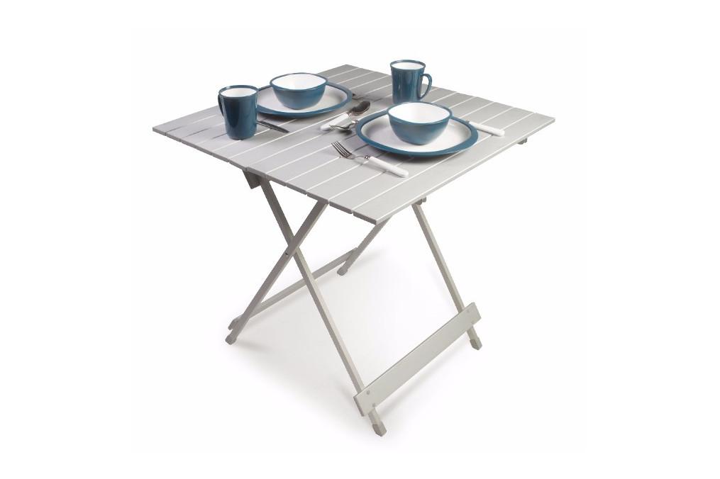 table aluminium pliante 70x70 kampa