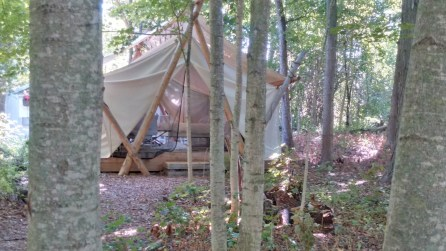 Check out this setup from one of our customers. We sure wouldn't mind camping this way.