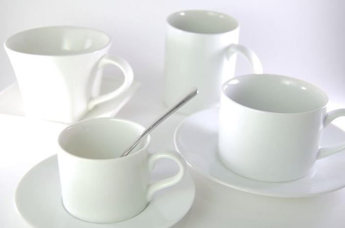 White Coffee Cups China