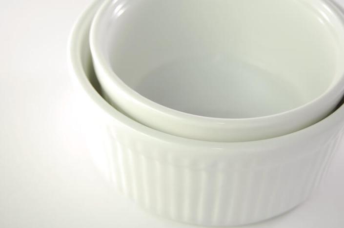 White China Ramekins
