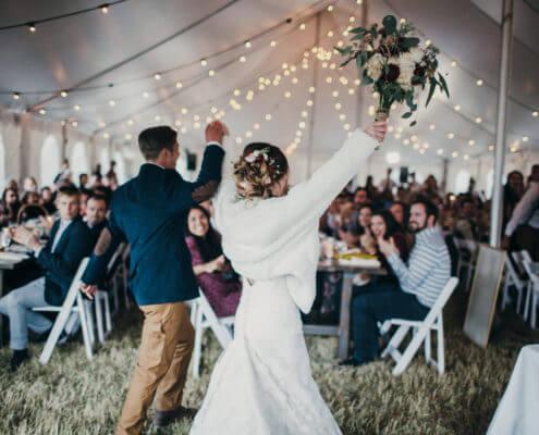 Tent Rentals-Breckenridge Wedding