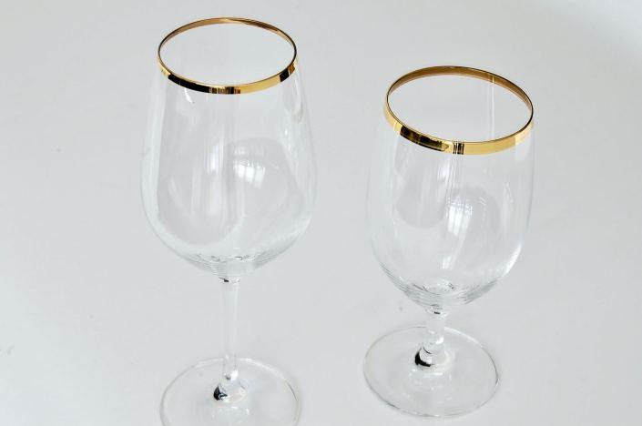 Forte Gold Rimmed Glassware