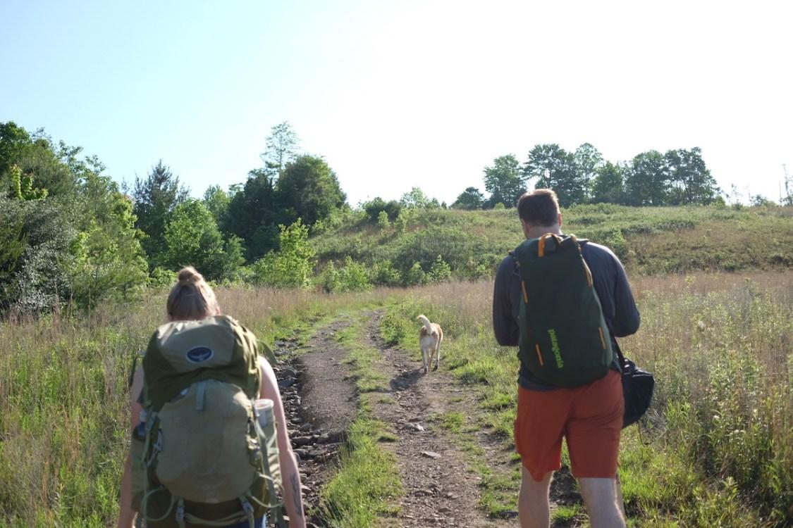 Hiking to Summersville Lake