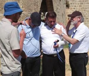 Praying for Jewish and Arab pastors in Akko