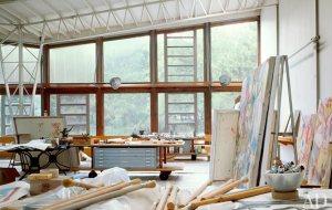 kooning-studio