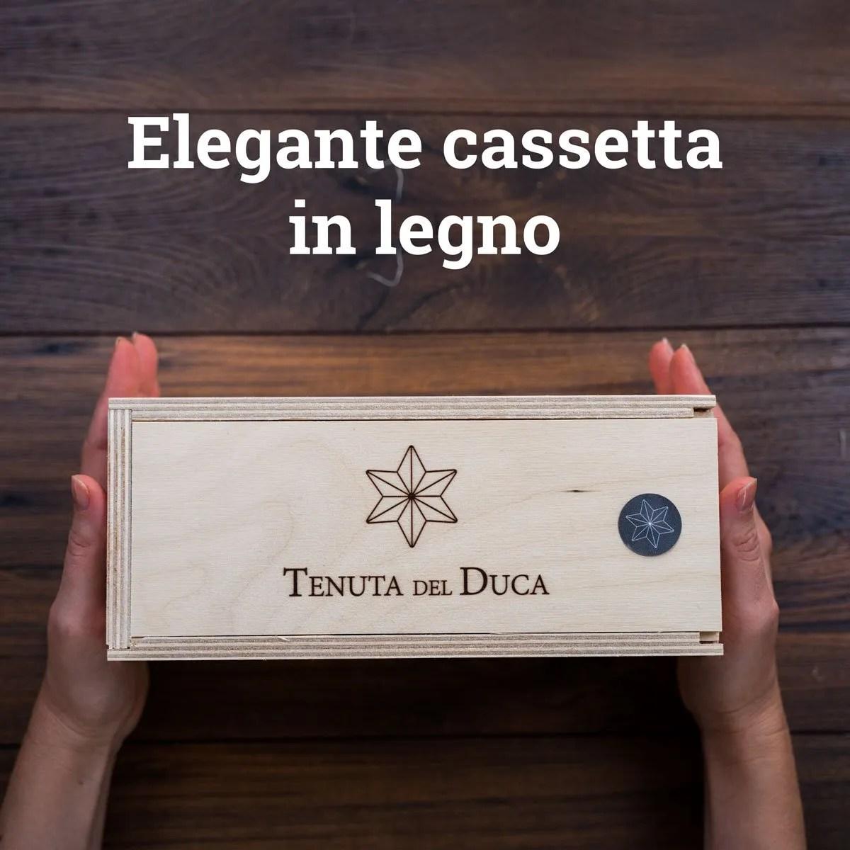 Oro di Piana Cassetta in legno01 - Tenuta del Duca