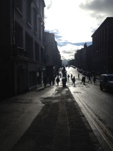 Glasgow in Black and White