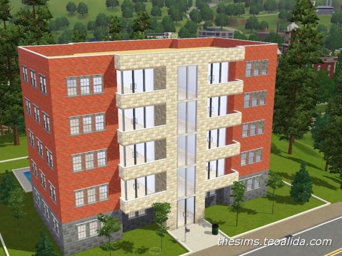 The Sims 3 Apartment Block