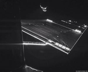 Селфи на Rosetta