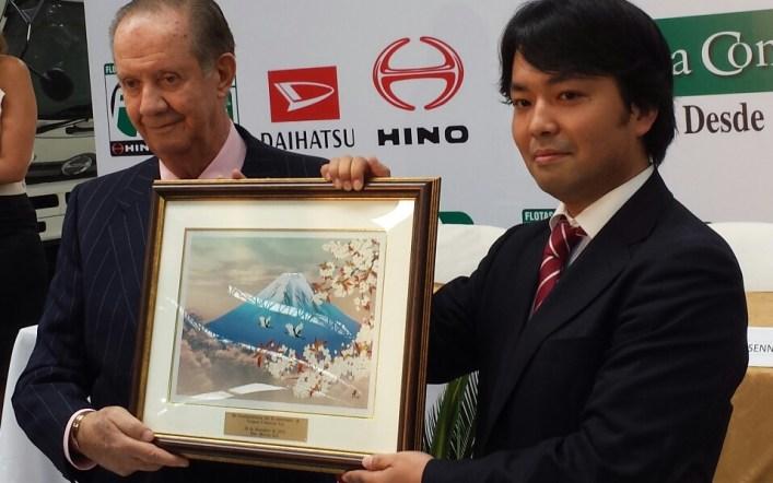 Hino Motors y Toyota Tsusho reconocen la labor de Teojama Comercial