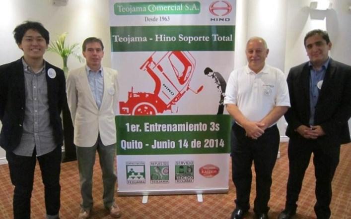 Teojama Comercial e Hino Motor Corporation capacitaron al personal de ventas, servicio y repuestos