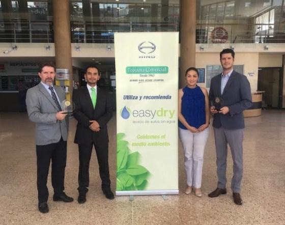 """Teojama Comercial firmó un convenio de apoyo al programa """"Mi Propio Empleo"""" de EasyDry"""