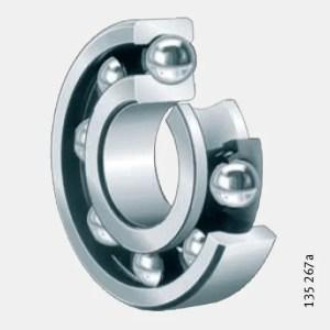 Deep groove ball bearings Single Row
