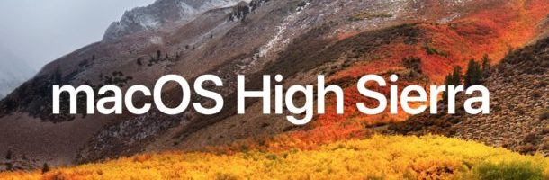 MACOS HIGH SIERRA, L'ULTIMO OS DI CASA APPLE