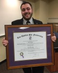 Alpha Tau Chapter receives Charter