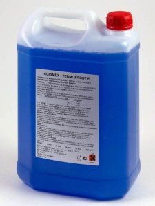 Teplonosná kvapalina Termofrost E 5l