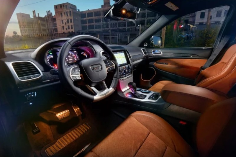2021 Jeep Grand Wagoneer Interior Changes
