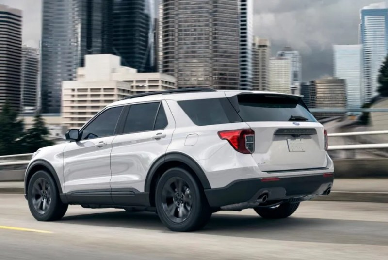 New 2021 Ford Explorer Specs and Colors