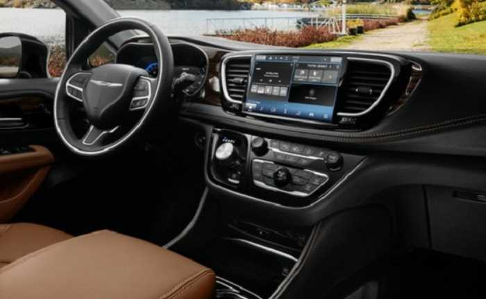 2023 Chrysler Pacifica Release Date Interior