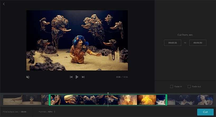برنامج قص الفيديو Online Video Cutter اون لاين