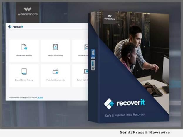 رنامج استرجاع الملفات Wondershare Recoverit Data Recovery