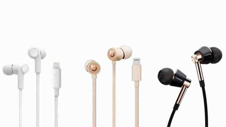 سماعة UrBeats wired earphones with lightning connector
