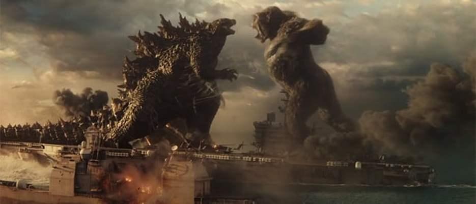 فيلم الأساطير والجريمة: Godzilla vs. Kong