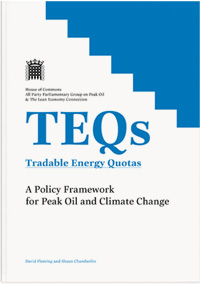 Parliamentary TEQs report cover