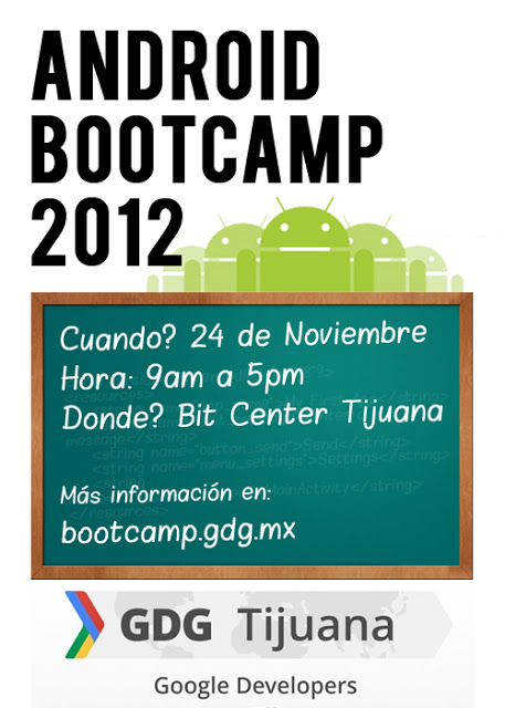 Android Bootcamp @ Bit Center Tijuana