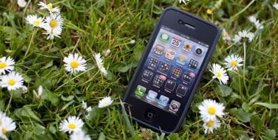 Smartphone in the field