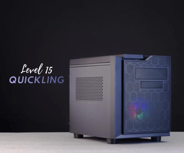 Игровой ПК – Level 15 Quickling (Intel Core i3+RX 580 4GB)