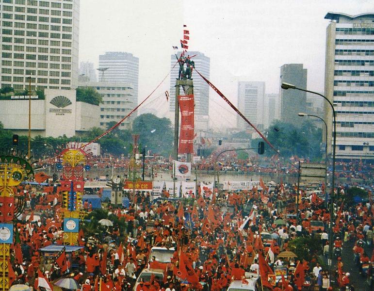 Pemilu 1999, Pemilu Pertama Pasca Orde Baru