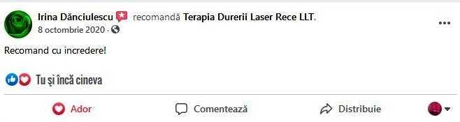 Recenzii Terapia Laser RECE LLT