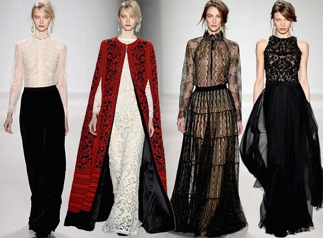 Tadashi_Shoji_fall_winter 2014 2015 new york fashion week