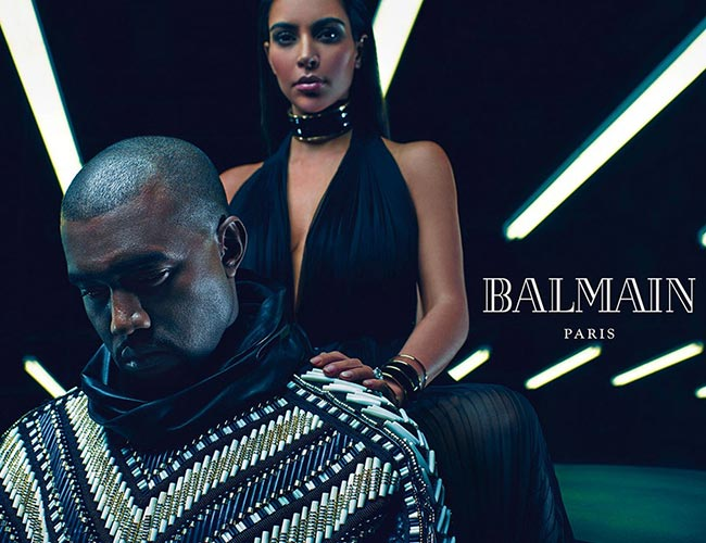 Kimye_for_Balmain_spring_summer_2015_campaign2