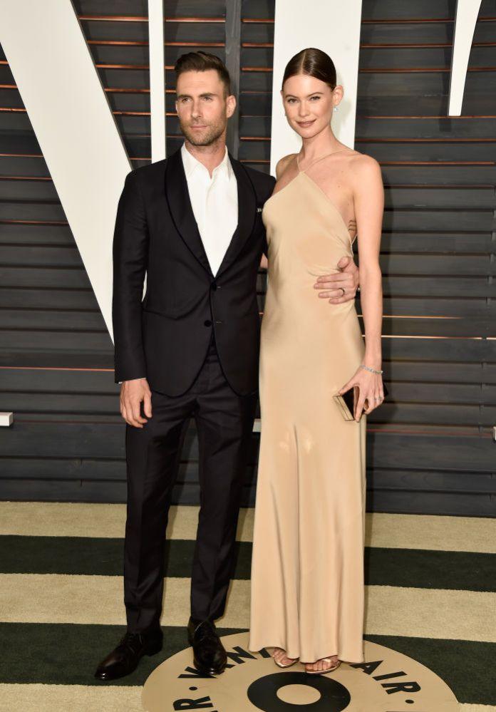Adam Levine ve Behati Prinsloo - Calvin Klein