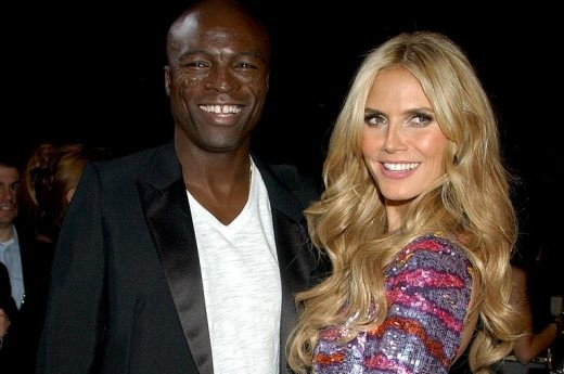 model heidi klum and singer seal arrive at the 12th annual victo