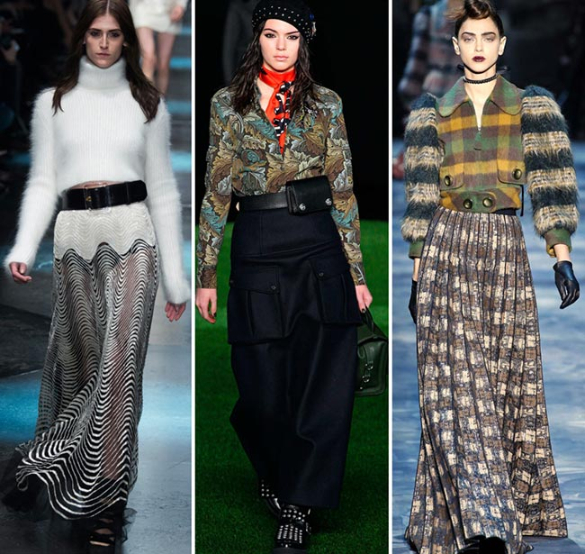 trends maxi skirts