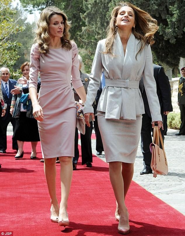 queen rania ve queen letizia