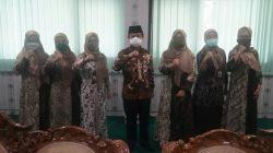 Pengurus Fatayat NU Jateng silaturahmi ke Kanwil Kemenag Jawa Tengah, Kamis (28/1/2021)