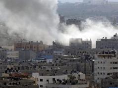 Serangan bom Israel ke Jalur Gaza (dok Al Jazeera)