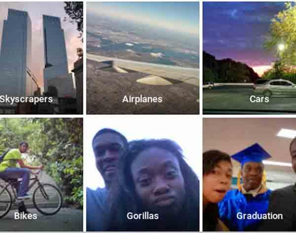 Google salah sebut orang hitam gorila