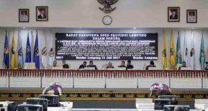 DPRD Lampung setujui tiga Raperda menjadi Perda