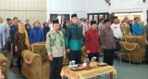 Herman HN pada Muswil IKA PMII Lampung