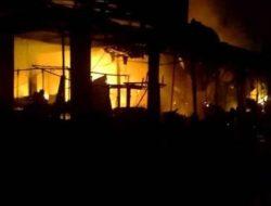 Video: Pasar Natar Terbakar